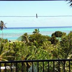 Отель Tapu Lodge балкон