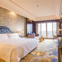 Отель Chateau Star River Guangzhou 4* Номер Делюкс с различными типами кроватей фото 8