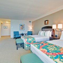 Отель Waikiki Beachcomber by Outrigger 3* Стандартный номер с различными типами кроватей фото 2