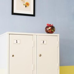 Мини-Отель Компас Кровать в женском общем номере с двухъярусной кроватью фото 14