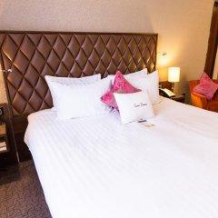 Отель Doubletree by Hilton London Marble Arch 4* Семейный номер с двуспальной кроватью фото 2