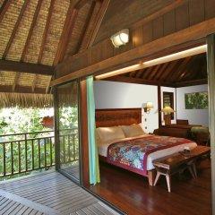 Отель Sofitel Bora Bora Private Island балкон