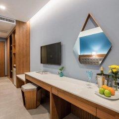 Отель BlueSotel Krabi Ao Nang Beach 4* Улучшенный номер с различными типами кроватей фото 7