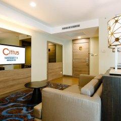 Отель Citrus Sukhumvit 11 Bangkok by Compass Hospitality 3* Стандартный номер с различными типами кроватей фото 12