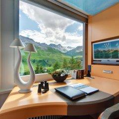 Tschuggen Grand Hotel Arosa 5* Стандартный номер с различными типами кроватей фото 3