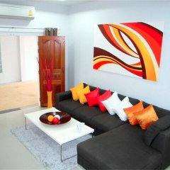 Отель Green Leaf Nai Harn 3 bedrooms Villa комната для гостей фото 3