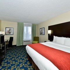 Отель Comfort Inn & Suites near Universal Orlando Resort 2* Стандартный номер с различными типами кроватей фото 12