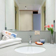 HI Jerusalem – Rabin Hostel Израиль, Иерусалим - отзывы, цены и фото номеров - забронировать отель HI Jerusalem – Rabin Hostel онлайн ванная фото 2