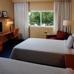 Отель Courtyard By Marriott Cancun Airport 3* Стандартный номер с различными типами кроватей
