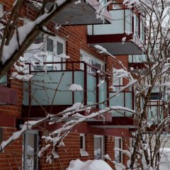 Отель Finnhostel Joensuu Йоенсуу балкон
