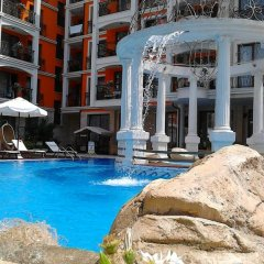 Отель Harmony Palace Apartcomplex Солнечный берег бассейн фото 2