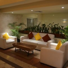 Отель Grand Park Royal Luxury Resort Cancun Caribe Мексика, Канкун - 3 отзыва об отеле, цены и фото номеров - забронировать отель Grand Park Royal Luxury Resort Cancun Caribe онлайн интерьер отеля фото 4