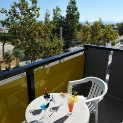 Hotel Mimosa Риччоне балкон