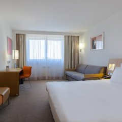 Отель Novotel Kraków City West 4* Улучшенный номер с различными типами кроватей фото 2
