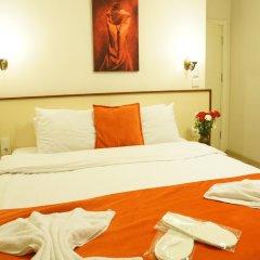 Hotel Mara 3* Номер Делюкс с различными типами кроватей фото 16