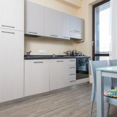 Апарт-Отель Skypark Улучшенные апартаменты с 2 отдельными кроватями