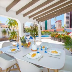 Отель Abahana Villa La Higuera питание