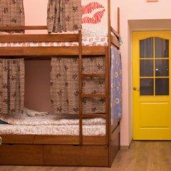 Центро Хостел Кровать в общем номере с двухъярусными кроватями