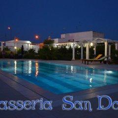 Отель B&B Masseria San Dana Гальяно дель Капо бассейн