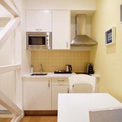 Апартаменты Rossio Apartments Студия с различными типами кроватей фото 11