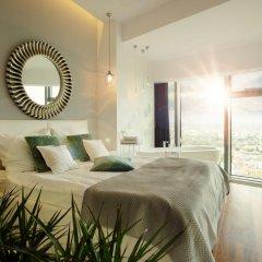 Отель Apartamenty Sky Tower Улучшенные апартаменты с различными типами кроватей фото 7