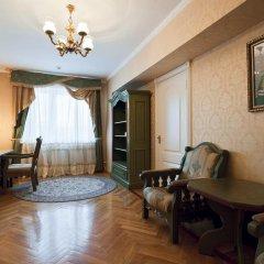 Гостиница Даниловская 4* Люкс двуспальная кровать фото 6