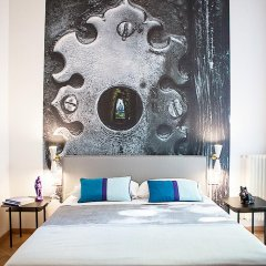 Отель Milizie 76 Gallery 2* Номер Делюкс с двуспальной кроватью фото 8