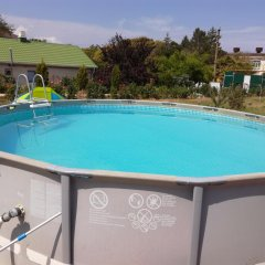 Гостиница Виноградная лоза бассейн