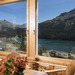 Отель Languard Швейцария, Санкт-Мориц - отзывы, цены и фото номеров - забронировать отель Languard онлайн балкон
