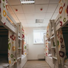 Hostel For You Кровать в общем номере с двухъярусной кроватью фото 31
