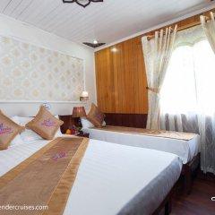 Отель Halong Lavender Cruises 3* Номер Делюкс с различными типами кроватей фото 3