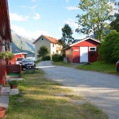 Отель Nesset Fjordcamping парковка