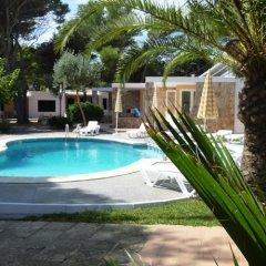 Отель Apartamentos Playa Calan Blanes Кала-эн-Бланес бассейн