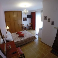 Akrotiri Hotel Студия с разными типами кроватей фото 23