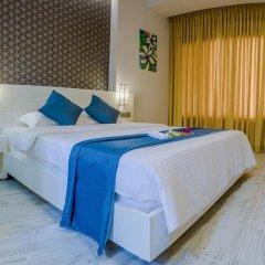 Отель Velana Beach 3* Улучшенный номер с различными типами кроватей фото 4