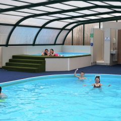 Отель Campsie Glen Holiday Park Великобритания, Глазго - отзывы, цены и фото номеров - забронировать отель Campsie Glen Holiday Park онлайн бассейн фото 2