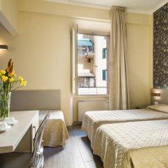 Отель Albergo Firenze 3* Стандартный номер с различными типами кроватей фото 7