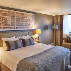 Отель Intercontinental Edinburgh the George 5* Стандартный семейный номер с двуспальной кроватью фото 7
