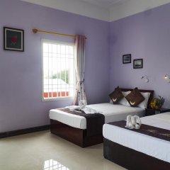 Отель The Moon Villa Hoi An 2* Стандартный семейный номер с различными типами кроватей фото 29