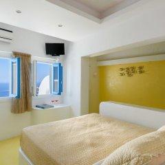 Отель Abyssanto Suites & Spa 4* Улучшенные апартаменты с различными типами кроватей фото 3