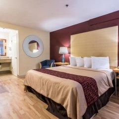 Отель Red Roof Inn Tulare - Downtown/Fairgrounds 2* Улучшенный номер с различными типами кроватей фото 4