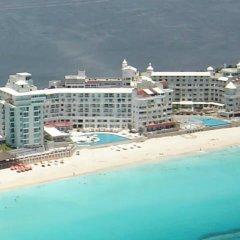 Отель Cancun Plaza Condo пляж фото 2