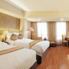 Nhat Ha 1 Hotel 3* Номер Делюкс с различными типами кроватей фото 4