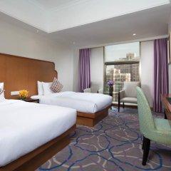 Отель Hangzhou Hua Chen International 4* Стандартный номер с различными типами кроватей фото 4
