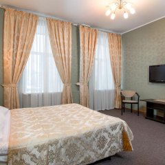 Гостиница Самара Люкс 3* Номер Комфорт двуспальная кровать фото 12