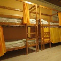 Хостел Фонтанка 22 Кровать в женском общем номере с двухъярусной кроватью