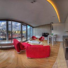 Отель Anton Panorama Apartments Польша, Варшава - отзывы, цены и фото номеров - забронировать отель Anton Panorama Apartments онлайн комната для гостей фото 3