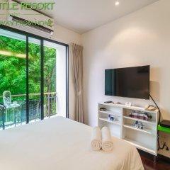 Отель The Title Phuket 4* Улучшенный номер с разными типами кроватей