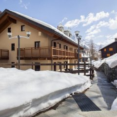 Апартаменты Gressoney Halldis Apartments балкон