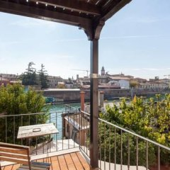 Отель La Mansarda Di Fellini балкон